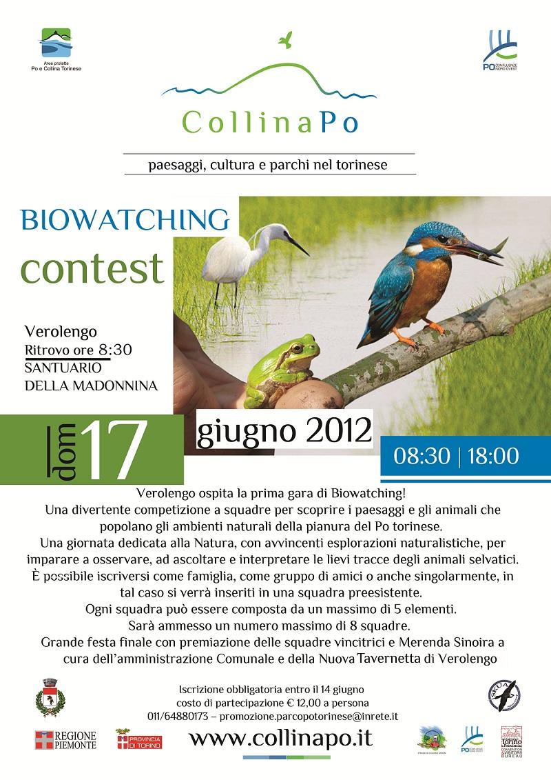 Gara di BIOWATCHING a Verolengo (osservazioni naturalistiche)